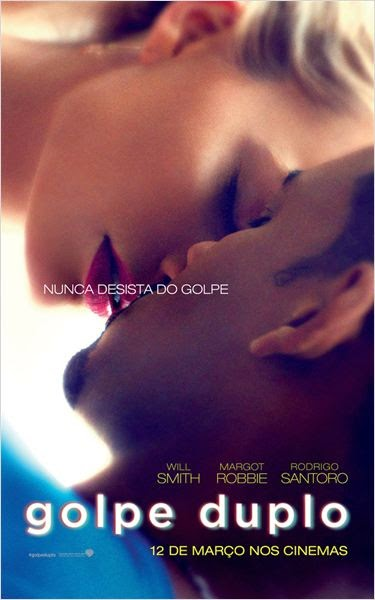 "Poster do filme ""Golpe Duplo"""