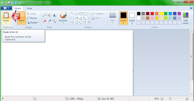 Mengambil Screenshot di Laptop