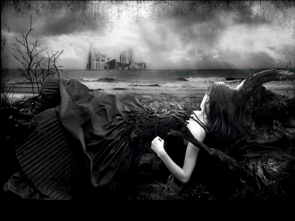 Franks toybox gothic art - Dark gothic angel wallpaper ...