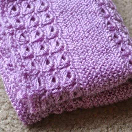 We Like Knitting: A Combination Knit & Crochet Baby Blanket Free Pattern