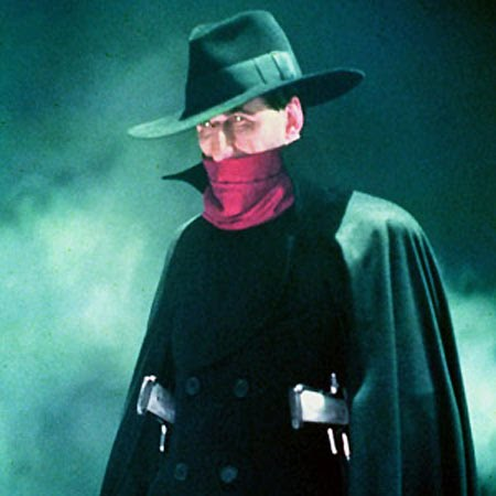 Alec Baldwin as The Shadow
