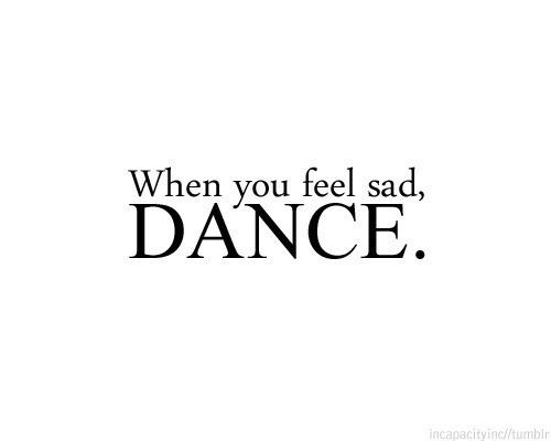 Sólo baila.