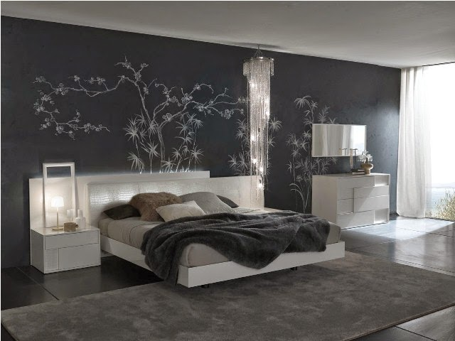 modern paint ideas for bedroom