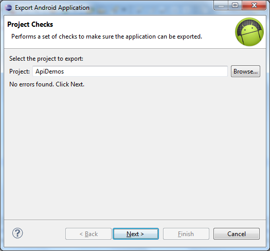 Select_Project_to_Export