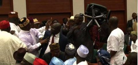 nass lawmakers fighting abuja