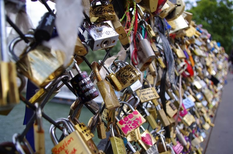 Locks of Love | The Pont des Arts in Paris