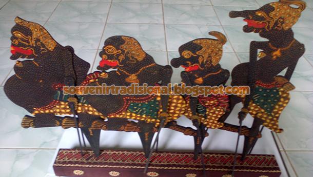 Wayang Batik Punokawan