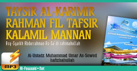 Kajian Kitab Syarhus Sunnah Imam Al-Barbahari