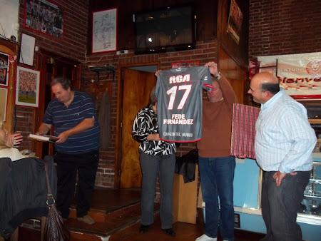 La camiseta 17 de Fede Fernandez