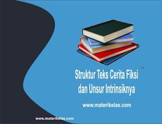 Struktur dan Unsur Intrinsik Teks Cerita Fiksi dalam Novel