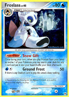 Froslass Pokemon Card Arceus Set