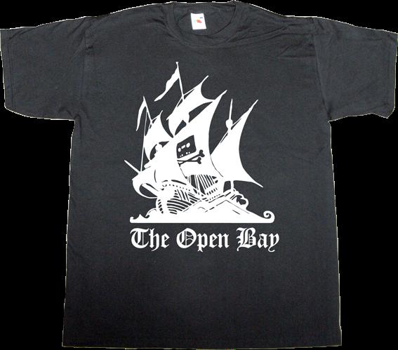 the pirate bay peer to peer p2p freedom internet 2.0 useless lawsuits useless copyright useless patents useless Politics t-shirt ephemeral-t-shirts