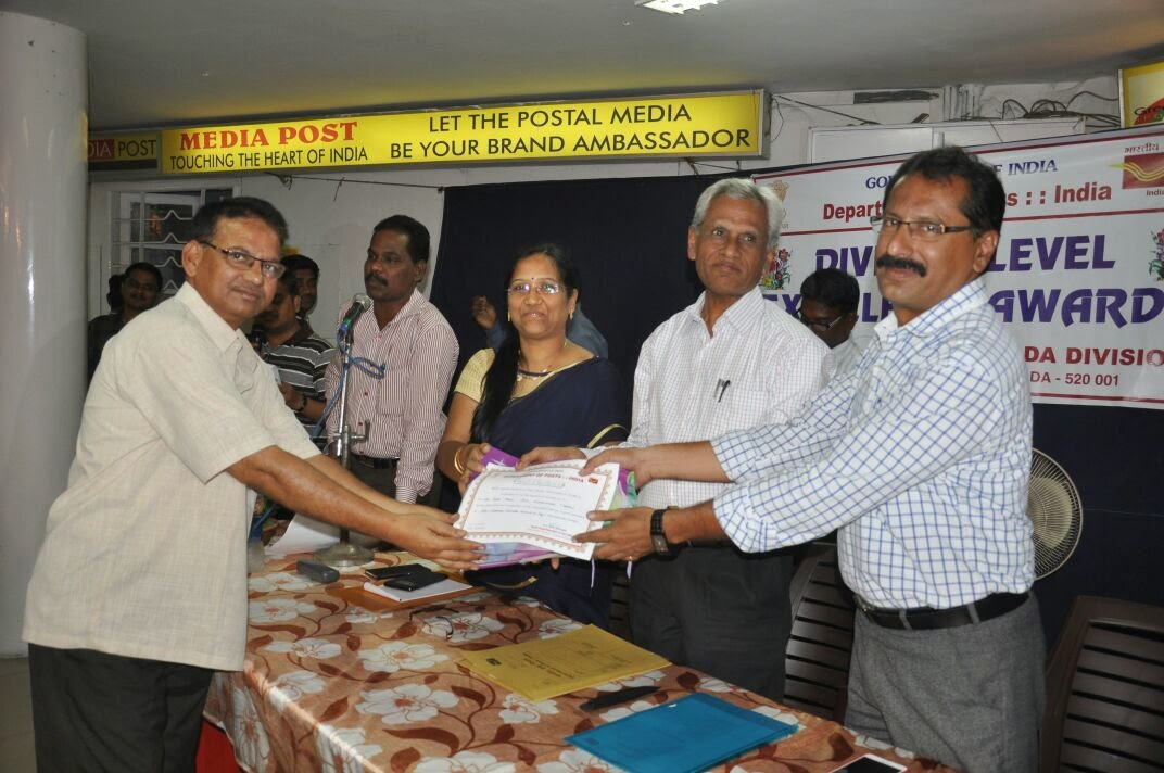 Vijayawada Division Excellence Awards function at VJA HO on 08.04.2015