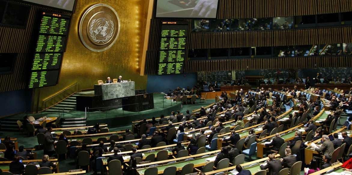 Organizaciones internacionales y Naciones Unidas