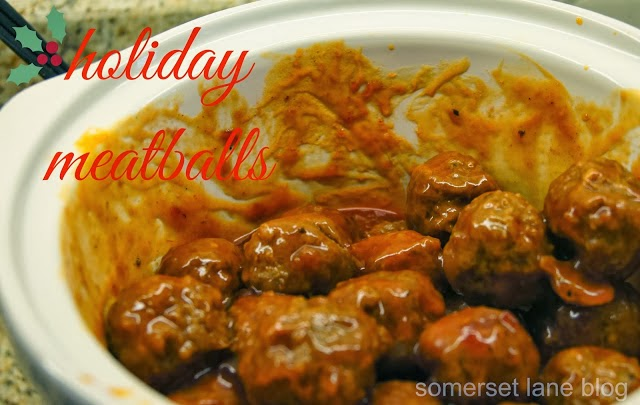 HOLIDAY MEATBALLS