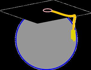 il cappello per la laurea