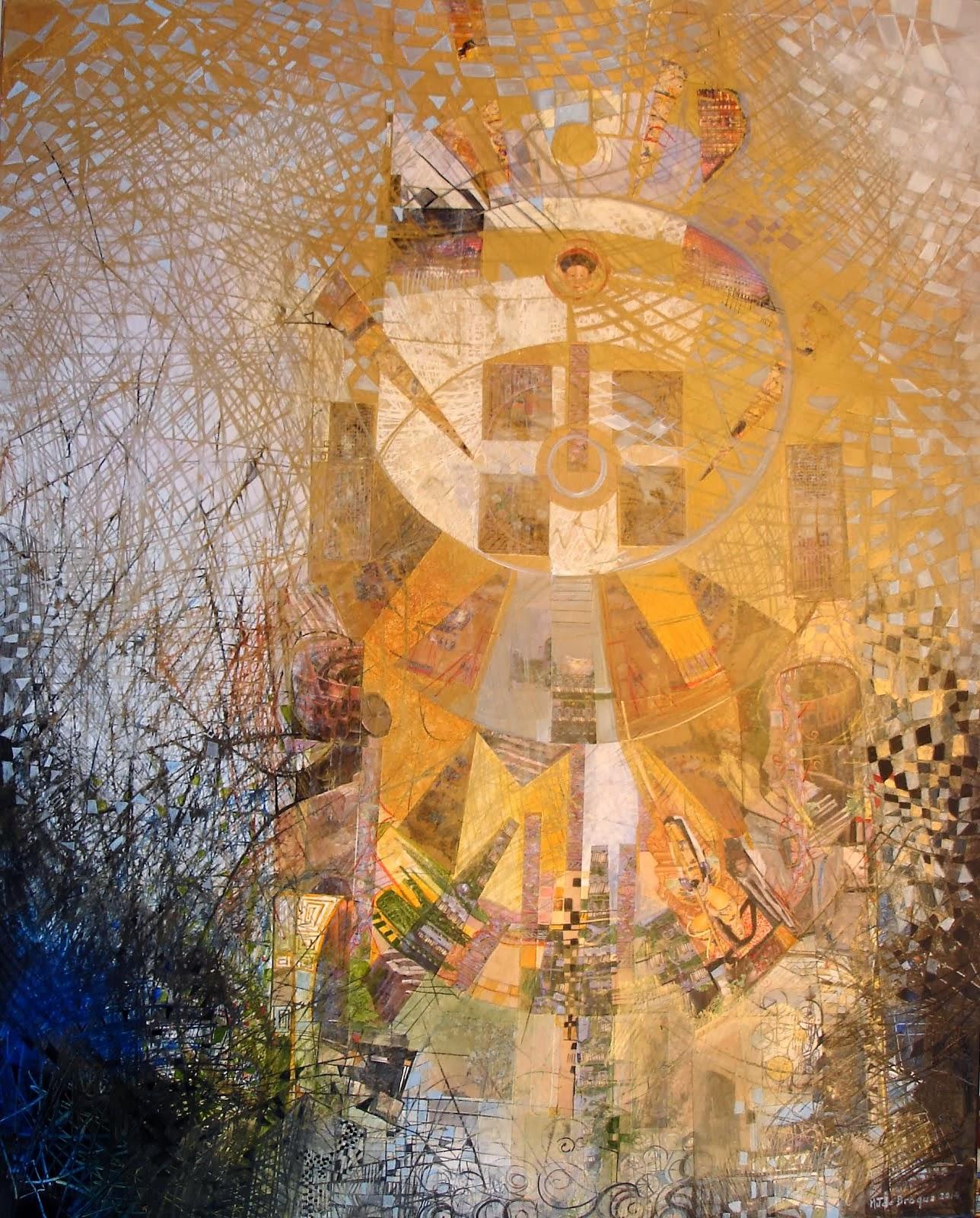 Au palais de la longévité paisible - 92 x 73 cm - 2014
