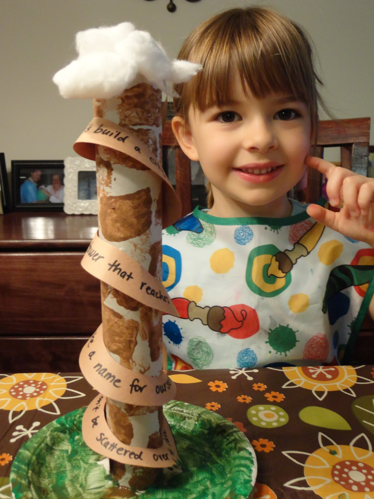 Tower Of Babel Craft Ideas http://homeschoolingmom2mags.blogspot.com/2012/09/the-tower-of-babel.html