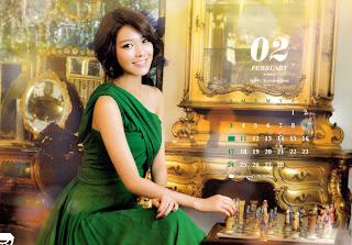 SNSD Sooyoung Desk Calendar 2013 2