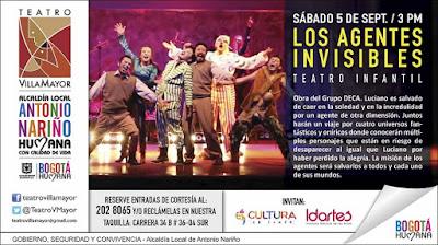Los Agentes Invisibles - Teatro Infantil
