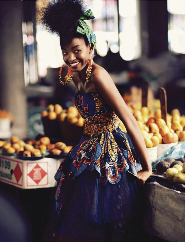 Sharleen Dziire By Ross Garrett For Elle South Africa January 2013 Ciaafrique African