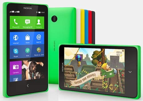 Nokia X, X Plus and XL Dual SIM