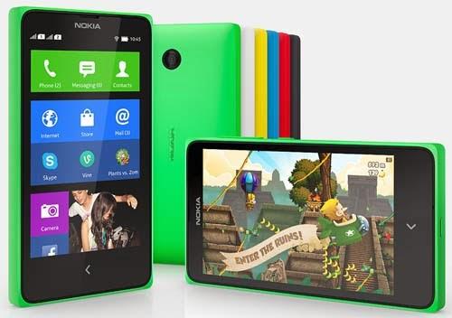 Nokia X, X Plus and XL Dual SIM