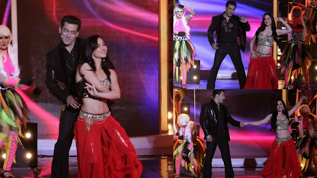 Rocking dance performance of Salman Khan and Elli on Bigg Boss 7 grand finale stage