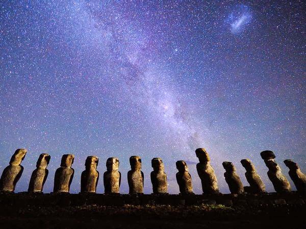 Moais de Rapa Nui