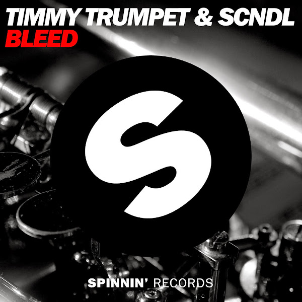 Timmy Trumpet & SCNDL - Bleed - Single Cover