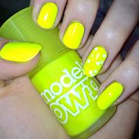 nails notd nailart models own Luis Lemon nail polish varnish review swatches
