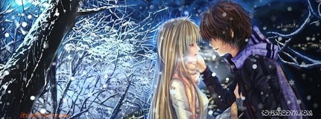 Anh bia Zing Me tinh yeu, anh bia Facebook hon nhau, Ảnh bìa Facebook 2 người hôn nhau - tình yêu lãng mạn nhất
