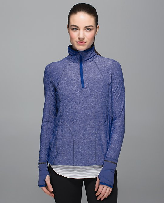 lululemon pace pusher half-zip