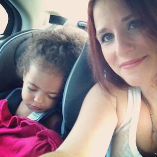Zion Asleep on the Roadtrip