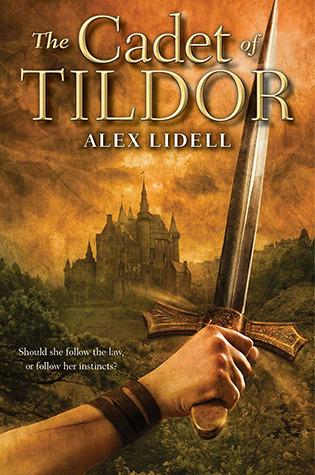 The Cadet of Tildor Alex Lidell book cover