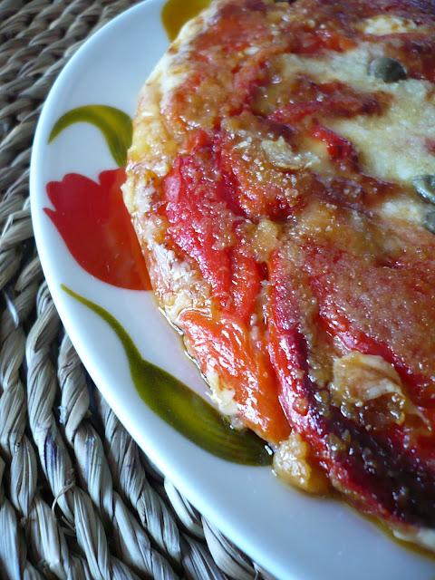 torta di peperoni o....turtera i pipi...la mia ricetta della felicità!!!