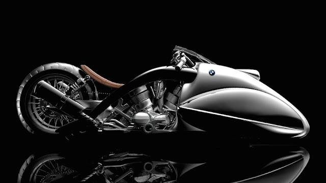 BMWをイメージした近未来なバイクのコンセプト