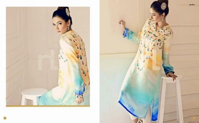 NishatLinenSummer2014VOL 3 wwwfashionhuntworldblogspot 10  - Nishat-Linen Eid Collection 2014-2015