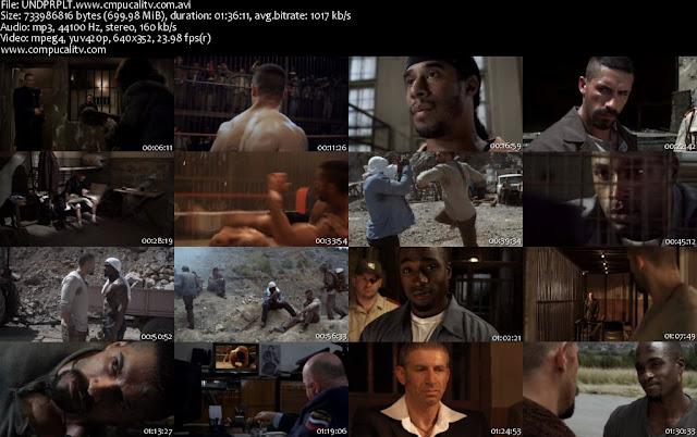 Undisputed 3 Redemption [Invicto 3] DVDRip Español Latino Descargar
