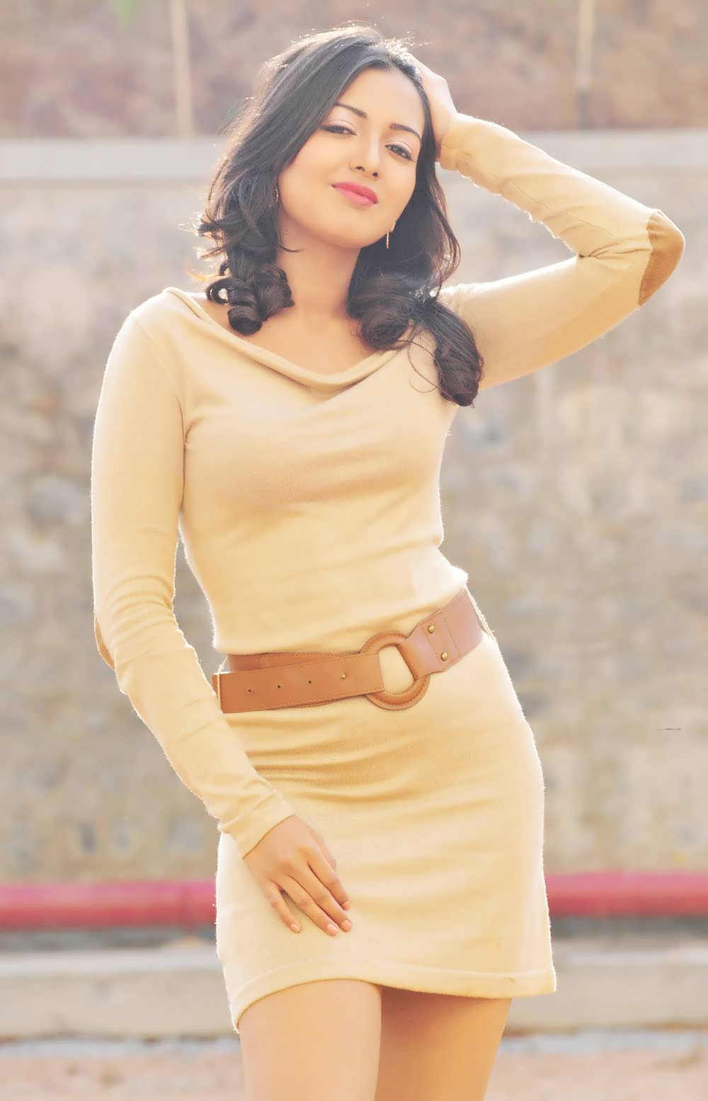 hollywood beautiful actress catherine latest short dress photo shoots