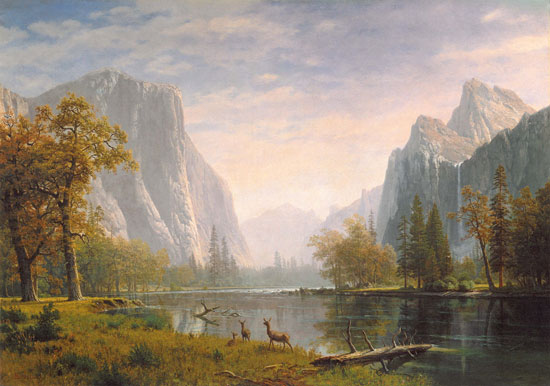 Oil Paintings Landscape Albert Bierstadt