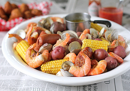 Low Country Shrimp Boil Recipe — Dishmaps