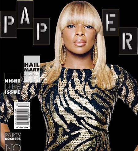 Mary J Blige For &quot;Paper Magazine&quot;