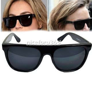 2012 New Super Modern Trendy lovely Hipster Flat Top Frame Sunglasses