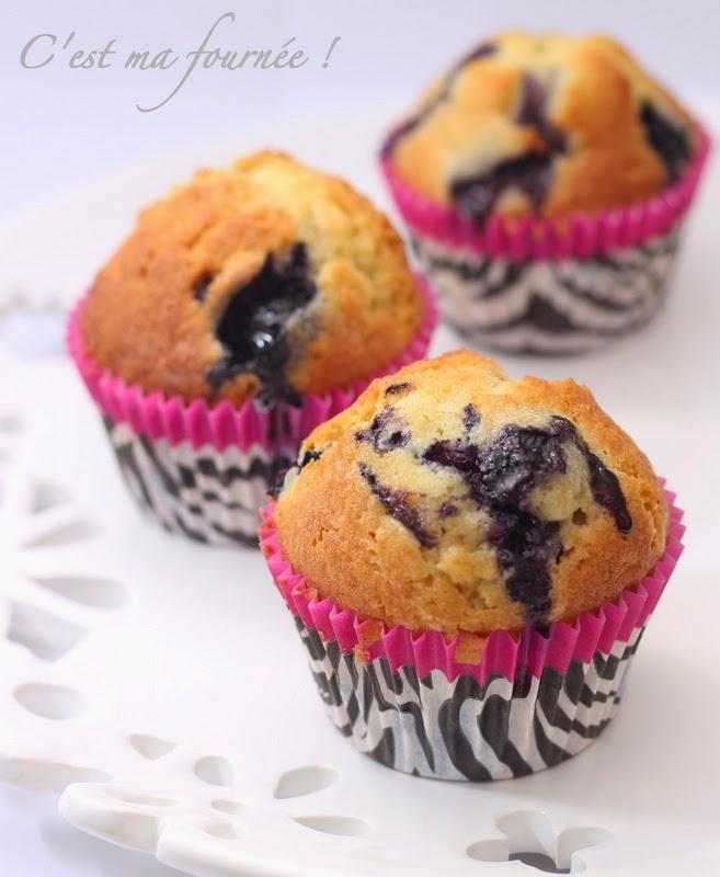 Cake Myrtilles Sans Gluten