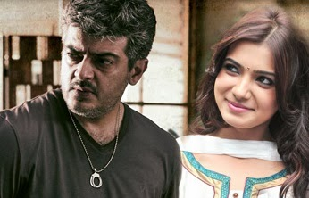 Samantha like to act with Ajith