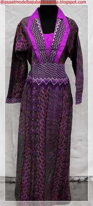 Model baju batik wanita terbaru 2013-2014