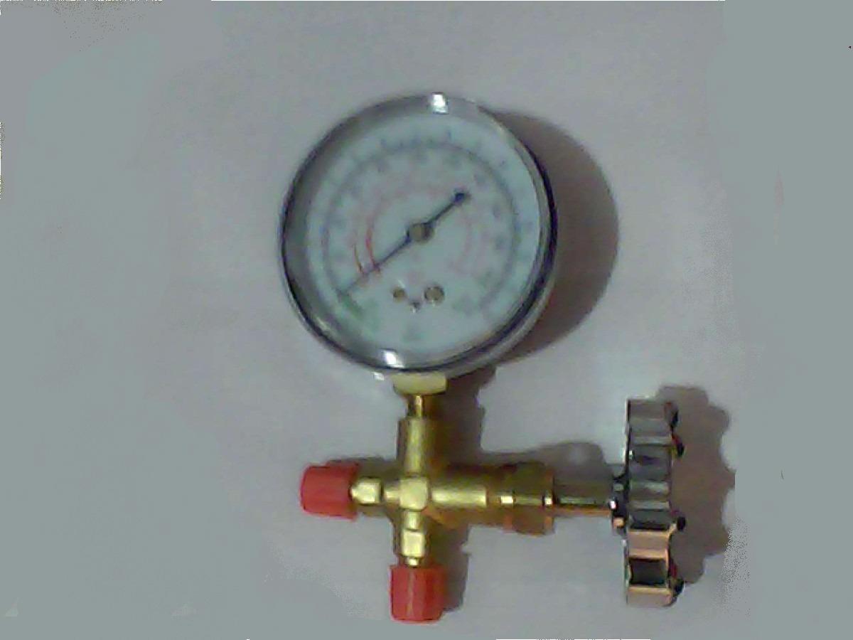 Tipos de manometros para refrigeracion for Manometro para medir presion de agua