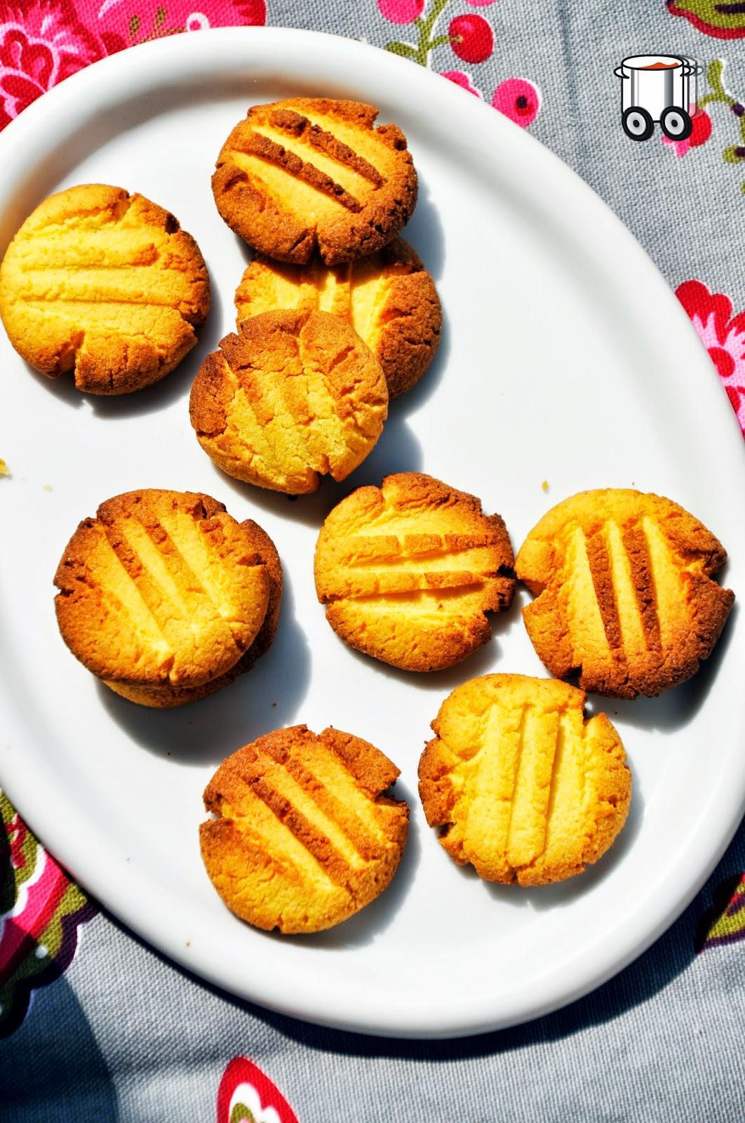 Szybko Tanio Smacznie - Ciasteczka marcepanowe