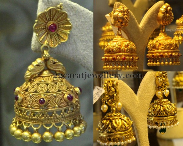 Antique Jhumkas by PMJ